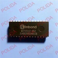 5PCS EEPROM IC WINBOND DIP-28 W27C512-45Z