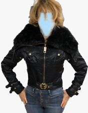 Apple Bottoms Jacket with removable Oversized huge fur collar