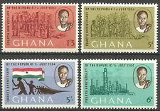 Ghana - 4 Jahre Republik Satz postfrisch 1964 Mi.Nr. 173-176