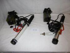 1x Stablampe, Lampe, 540mm  Arbeitslampe 220V + Trafo ex BW Bundeswehr(St13)