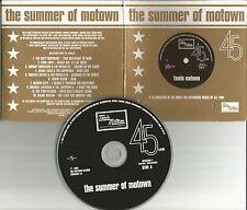 RARE Europe PROMO CD w/ MICHAEL JACKSON  Marvin Gaye DIANA ROSS Smokey Robinson