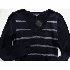 Wool Blend V-Neck Regular Size XS Sweaters for Women