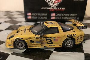Dale Earnhardt/Jr/Andy Pilgrim/Kelly Collins #3 2001 C5-R Corvette Raced 1:43