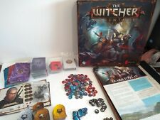The Witcher Adventure Board Game By Fantasy Flight CD Projekt Red Unpunched