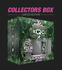 XQC The Juice Collector's Box GFUEL LE 4000 In Hand, **SEALED**