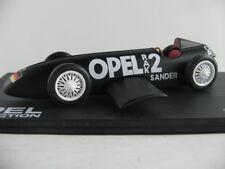 IXO #25 Opel RAK 2 (1928) in mattschwarz 1:43 NEU/PC-Vitrine
