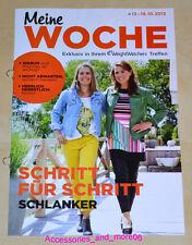 Weight Watchers Meine Woche 13.10 -19.10 ProPoints Plan 360 Wochenbroschüre 2013
