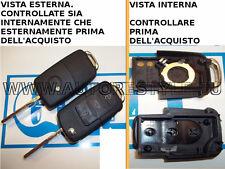 Chiave scocca ricambio guscio cover telecomando 3T VW SKODA SEAT vari modelli