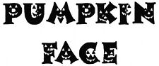 Pumpkin Face Font Machine Embroidery 74 Designs on multi-formatted CD