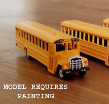 P&D Marsh N Gauge N Scale US1 American school bus kit requires painting