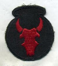 WWII WW2 US Army 34th Infantry Division Color Patch