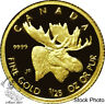 Canada 2004 50 Cent Moose 1/25 oz Gold Coin