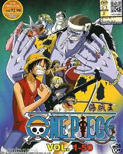 Anime One Piece Vol. 1-50 Box 1 DVD Box Set