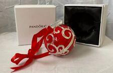 Pandora Red 2017 Spectacular Radio City Rockettes Christmas Ornament - New