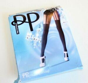Pretty Polly Suspender Tight Black color Women's OS open box