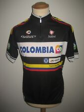 Colombia Procontinental jersey shirt cycling trikot camiseta maillot size XL