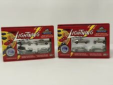 JOHNNY LIGHTING LIMITED EDITION SETS - 1994 SETS A & B CHROME MATCHBOX HOTWHEELS