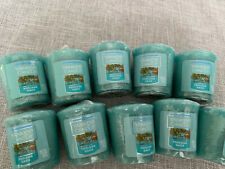 Set Of 10 Yankee Candle Poolside Oasis Votives New Free Shipping