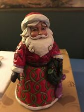 Jim Shore Santa Always in Good Cheer 2014 Pint Size