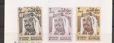 Bahrain SC # 238-239-240 Sheik Isa. Used