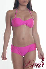 D105 swimsuit pink size S