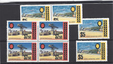 BARBADOS 1970-71 $2.50 and $5 on glazed paper each x 4 ($2.50 in blk) Cat £180