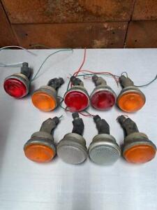 Land Rover, ex-WD/MOD lights set of 9