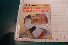 BUILD YOUR OWN GARAGE MANUAL ucando series, best of 50 plans, 86 pages unused