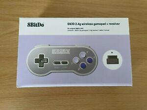 8BitDo - Super Nintendo SNES Famicom SN30 - Wireless Controller 2.4 GHz - NEW!!