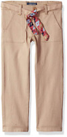 Cherokee Girls' Uniform Stretch Twill Skinny Pant - Khaki Patch - 6X