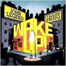 JOHN LEGEND & THE ROOTS - WAKE UP!  CD  12 TRACKS HIPHOP/RAP/DANCE/POP  NEW+