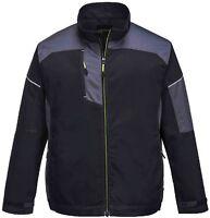 Portwest T603 black/zoom grey modern cut multi-pocket urban work jacket