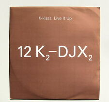 K-KLASS.........LIVE IT UP...........PromoCopy MAXI 33T