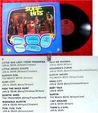 LP 16 Original Surf Hits feat. Trashmen Beach Boys