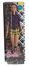 Barbie Fashionistas Tall Plaid on Plaid  Doll #52 packaging damage
