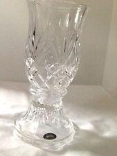 Vintage Party Lite 2 piece 24% Lead Crystal Hurricane Lamp