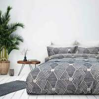 Bas Phillips Seaforth Navy Cotton Duvet Doona Quilt Cover Set Queen King SuperKB