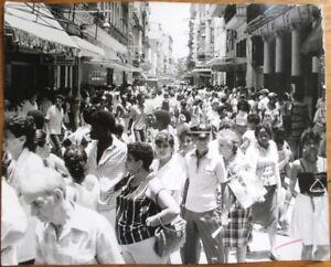 Havana/Habana, Cuba SEVENTEEN (17) Original 8x10 1980 Photographs, Street Scenes