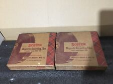 Two Scotch Magnetic Recording Film 116 - Used - Great