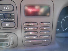 1995-1998 EF-EL Fairmont Climate Control Panel-tan or grey-please advise- any