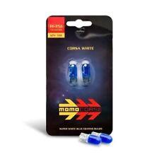 Momo Capless SUPER White Sidelight Bulbs W5W 12v 5w T10 / 501  RRP £9.99 SET x 2