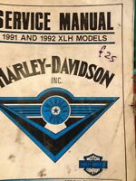 HARLEY-DAVIDSON WORKSHOP MANUAL REPAIR SERVICE GENUINE HD THE BEST MONEY CAN BUY