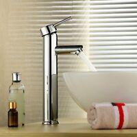 Single Handle Bathroom Sink Faucet Water Hot Cold Mate Basin Faucet Single Hole