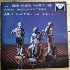SXL 2046 Mozart Nachtmusik / Tchaikovsky Serenade / Solti IPO W/B