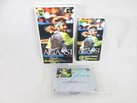 Andre AGASSI Tennis Super Famicom Nintendo SFC Import Japan Video Game sf