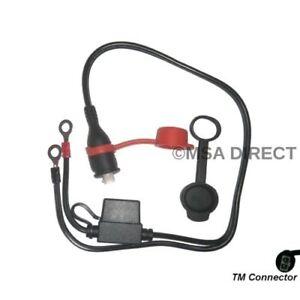 Optimate / Accumate 12v Imperméable à Fusible Oeillet Connexion Câble (TM71)