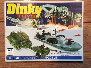 Vintage Dinky Die Cast Toys Catalog No.11 1975