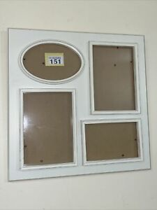 Shabby Chic Multi Aperture Photo Frame Rustic Distressed Wood Picture Frame