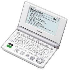 Casio EW-G200C elektr. Wörterbuch EX-word Englisch Französisch Spanisch DUDEN