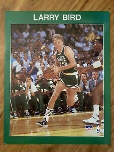 Vtg Larry Bird Boston Celtics Poster Starline NBA Basketball 1988 Print 16 X 20